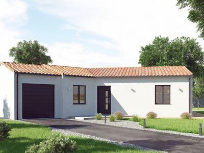 Maison neuve, 76 m² - Breuil-Barret (85120)
