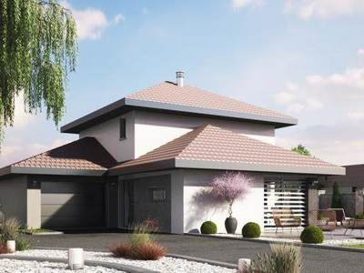 Maison neuve, 106 m² - Beaucourt (90500)