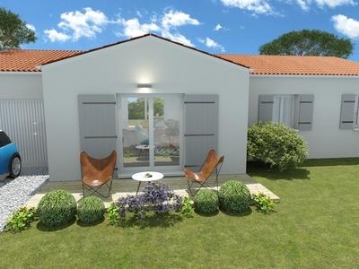 Maison neuve, 106,87 m²