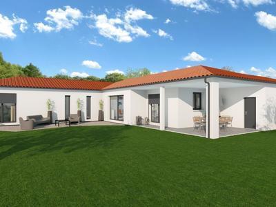 Maison neuve, 130 m² - Boisseuil (87220)