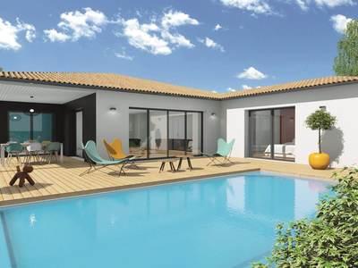 Maison neuve, 131 m² - Mérignac (33700)