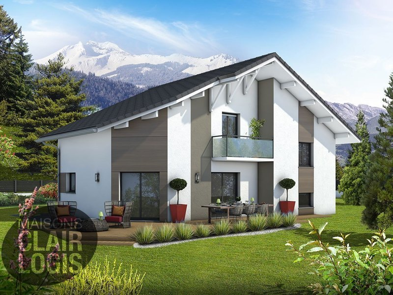 prix maison clair logis duune maison en l maisons clair. Black Bedroom Furniture Sets. Home Design Ideas