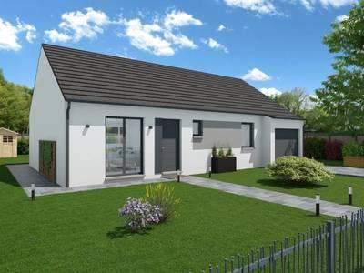 Maison neuve, 89 m² - Neuflize (08300)