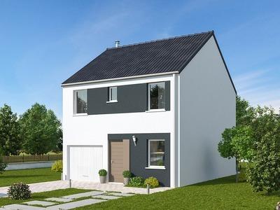 Maison neuve, 92 m²