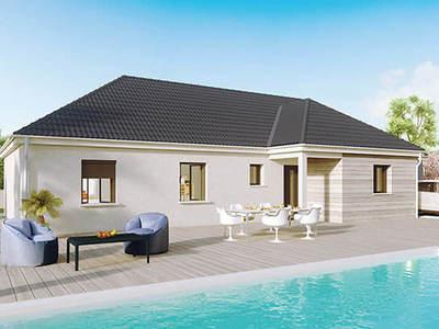 Maison neuve, 100 m² - Pouilloux (71230)