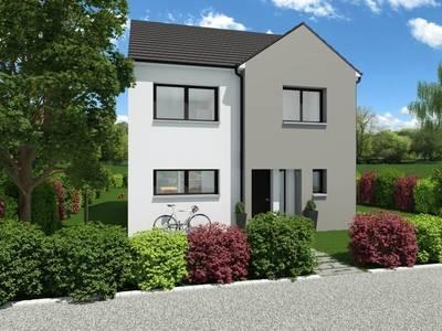 Maison neuve, 125 m² - Sainte-Luce-sur-Loire (44980)