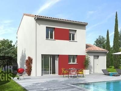 Maison neuve, 90 m² - Meyrargues (13650)
