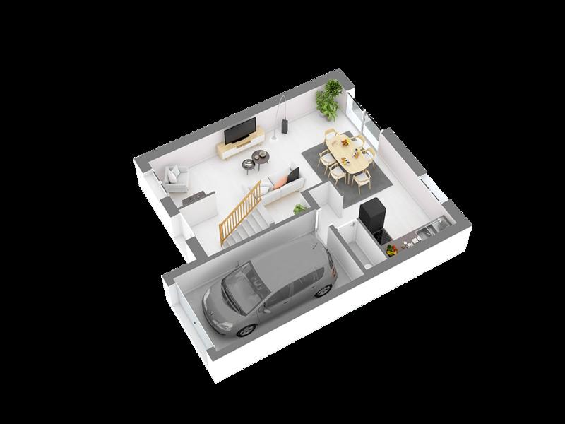 Maison neuve, 85,58 m²
